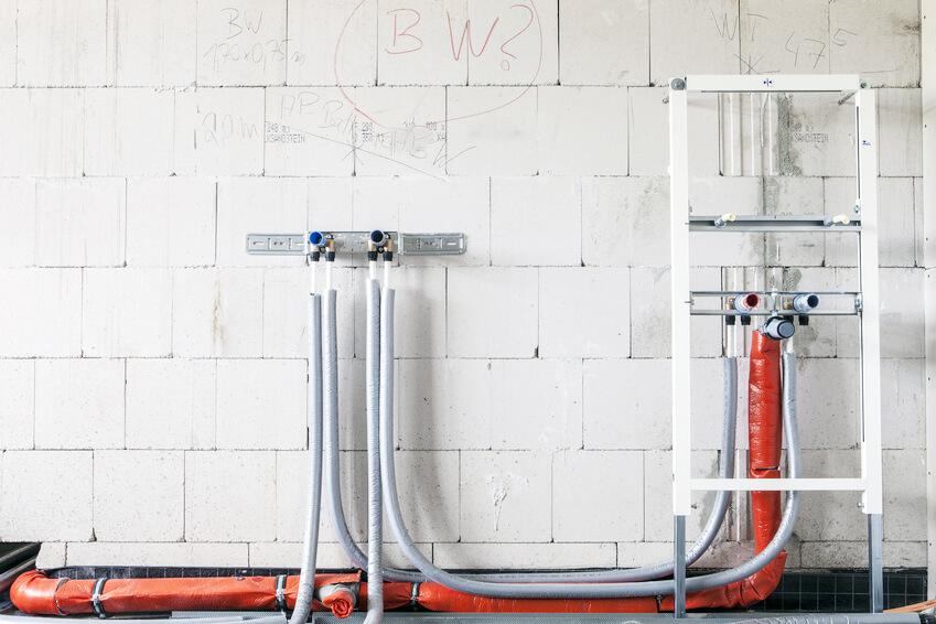 Baustelle Rohbau © Matthias Buehner